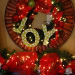 J-O-Y Wreath