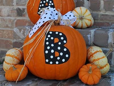 Halloween Painted Pumpkins Amanda Jane Brown