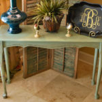 Console Table Makeover!
