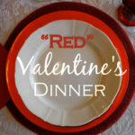 """Red"" Valentine's Dinner"