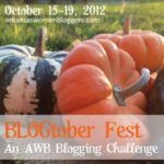 Blogtober Fest Blogging Challenge Day 1