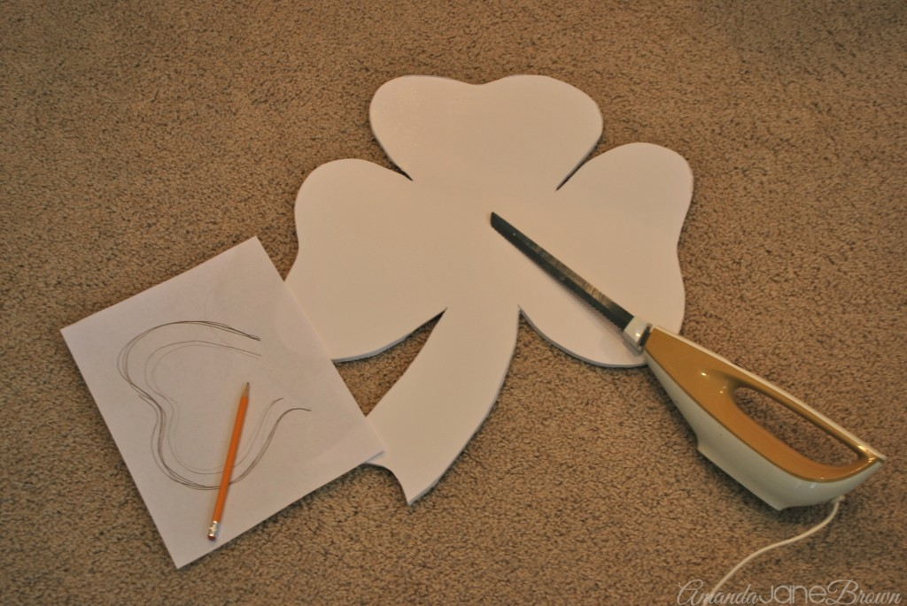 Shamrock Door Hanger 2