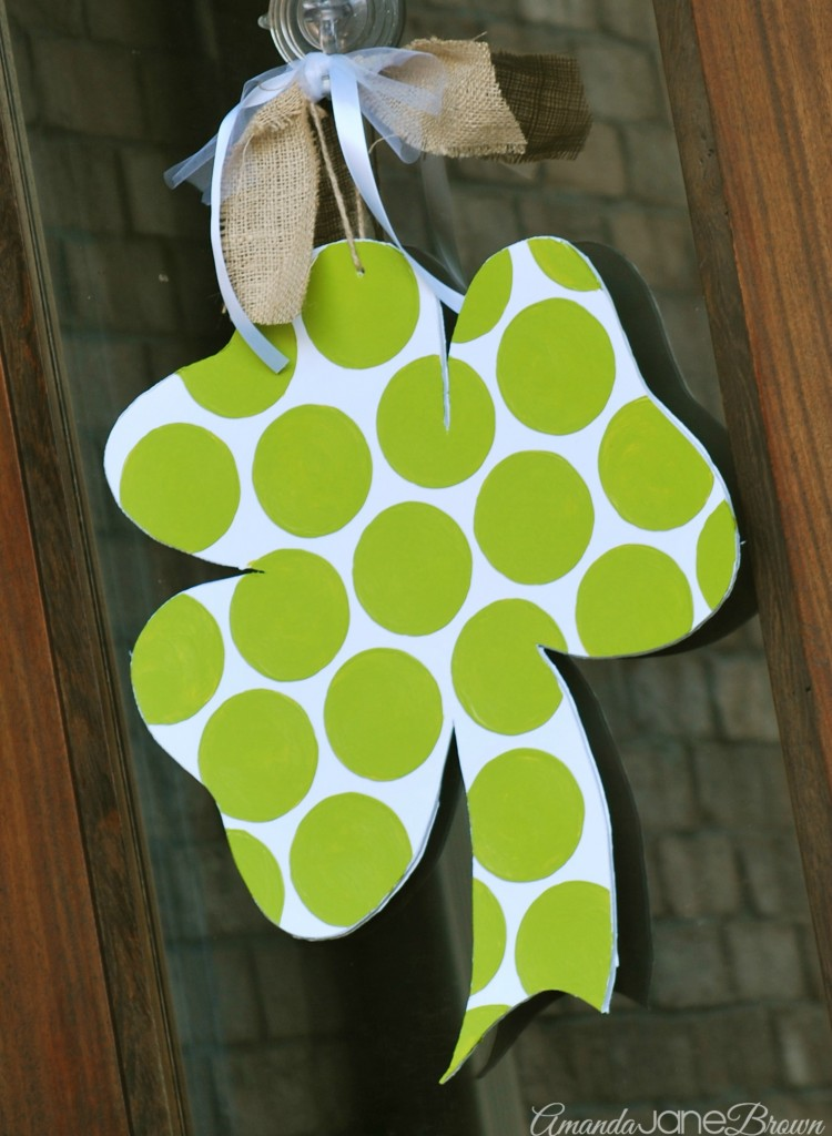 Shamrock Door Hanger 5