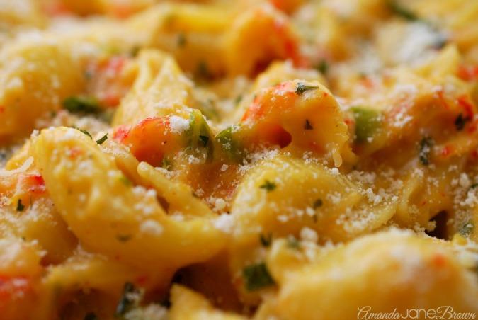 Creamy Crawfish Pasta - Amanda Jane Brown