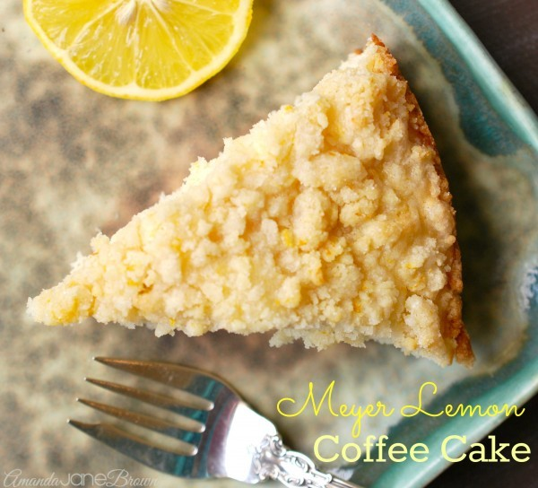 Meyer Lemon Coffee Cake Martha Stewart