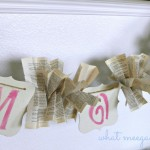 Mother's Day Garland-Guest Post Today!