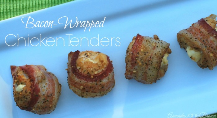 Bacon-Wrapped Chicken Tenders Main