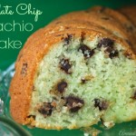 Chocolate Chip Pistachio Cake