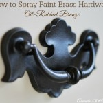 How To Spray Paint Brass Hardware